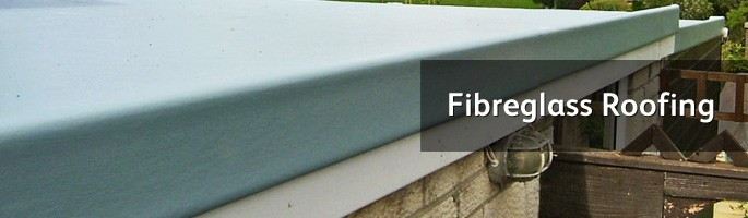 Fibreglass flat roof systems