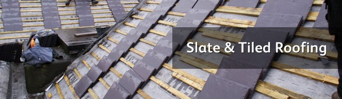 Constructing slate and tile roofs