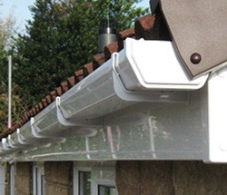 Gutter replacement after damage